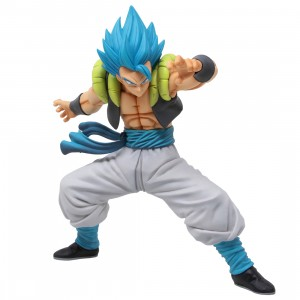 Bandai Ichiban Kuji Dragon Ball Super Saiyan God Super Saiyan Gogeta Ultimate Version Figure (blue)