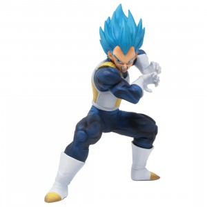 Bandai Ichiban Kuji Dragon Ball Super Saiyan God Super Saiyan Evolved Vegeta Ultimate Version Figure (blue)