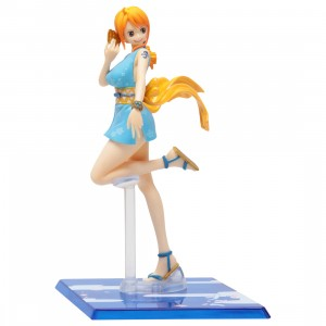 Bandai Figuarts Zero One Piece Nami Onami And O-Tama Figure (blue)