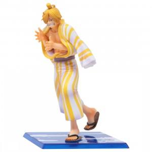 Bandai Figuarts Zero One Piece Sanji Sangoro Figure (yellow)
