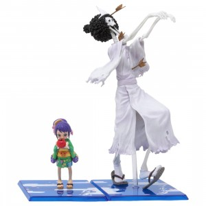 Bandai Figuarts Zero One Piece Brook Honekichi Figure (white)