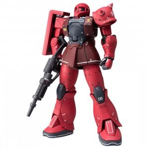 Bandai Mobile Suit Gundam The Origin Gundam Fix Figuration Metal Composite MS-05S Char Aznable's Zaku I Figure (red)