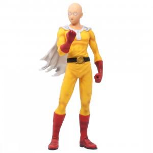 Bandai Ichibansho One Punch Man Normal Face Saitama Figure (yellow)