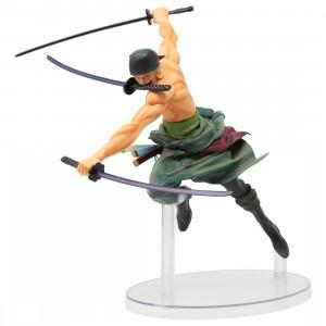 Bandai Ichibansho One Piece Dynamism Of Ha Roronoa Zoro Figure (green)