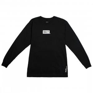 BAIT Men Bite Logo Long Sleeve Tee (black)