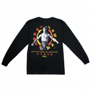 BAIT x Bruce Lee Men Jun Fan Gung Fu Institute Long Sleeve Tee (black)