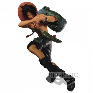 PREORDER - Banpresto One Piece Scultures Big Banpresto Figure Colosseum 4 Vol.7 Portgas D. Ace Figure (green)