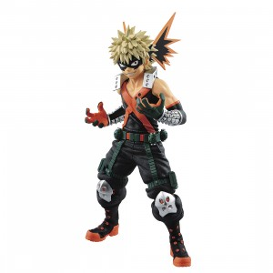 PREORDER - Banpresto My Hero Academia Texture Katsuki Bakugo Figure (orange)
