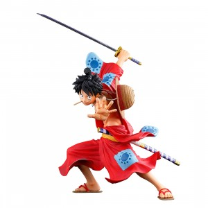 PREORDER - Banpresto One Piece Banpresto World Figure Colosseum 3 Super Master Stars Piece The Monkey D. Luffy Figure (red)