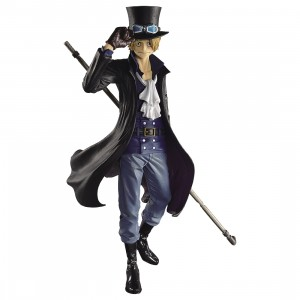 PREORDER - Banpresto One Piece Scultures Big Banpresto Figure Colosseum 4 Vol.5 Sabo Figure (black)