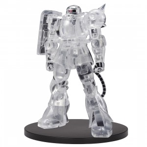 PREORDER - Banpresto Mobile Suit Gundam Internal Structure MS-06F Zaku II Ver. B Figure (white / clear)