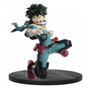 PREORDER - Banpresto My Hero Academia The Amazing Heroes Vol 10 Izuki Midoriya Figure (green)