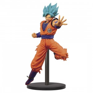 PREORDER - Banpresto Dragon Ball Super Chosenshi Retsuden II Vol. 4 Super Saiyan God Super Saiyan Goku Figure (orange)