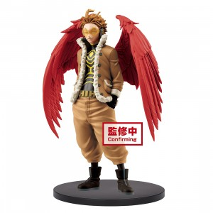PREORDER - Banpresto My Hero Academia Age Of Heroes Hawks And Red Riot - A Hawks Figure (tan)