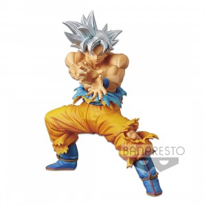 PREORDER - Banpresto Dragon Ball Super The Super Warriors Special Ultra Instinct Goku Re-run Figure (silver)