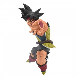 PREORDER - Banpresto Dragon Ball Super Drawn By Toyotaro!! Father-Son Kamehameha Bardock Figure (black)