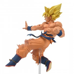 PREORDER - Banpresto Dragon Ball Super Drawn By Toyotaro!! Father-Son Kamehameha Super Saiyan Son Goku Figure (yellow)