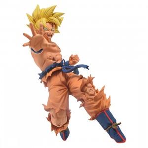 Banpresto Dragon Ball Super Drawn By Toyotaro!! Father-Son Kamehameha Super Saiyan Son Goku Figure (yellow)