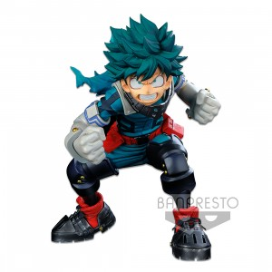 PREORDER - Banpresto My Hero Academia Banpresto World Figure Colosseum Modeling Academy Super Master Stars Piece Izuku Midoriya The Brush Figure (green)