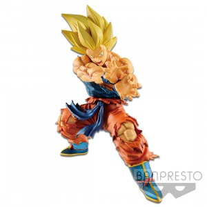 PREORDER - Banpresto Dragon Ball Legends Collab Kamehameha Son Goku Figure Re-Run (orange)