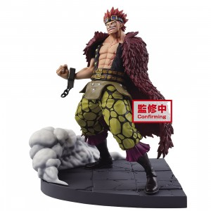 PREORDER - Banpresto One Piece Log File Selection Worst Generation Vol. 2 Eustass Kid Figure (red)