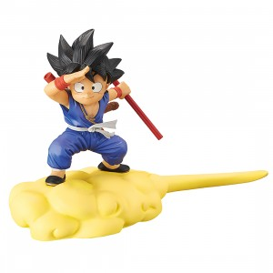 PREORDER - Banpresto Dragon Ball Kid Goku And Flying Nimbus Ver. B Figure (blue)