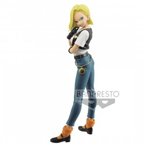 Banpresto Dragon Ball Z Glitter And Glamours Android No. 18 III Figure - Ver A (blue)