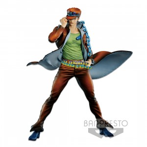PREORDER - Banpresto JoJo's Bizarre Adventure Stardust Crusaders Super Master Stars Piece Jotaro Kujo The Brush 2 Figure (orange)
