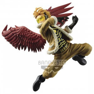 PREORDER - Banpresto My Hero Academia The Amazing Heroes Vol 12 Hawks Figure (red)