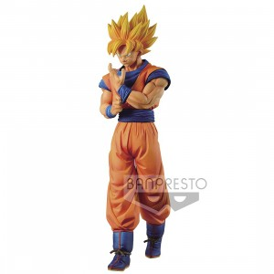 PREORDER - Banpresto Dragon Ball Z Solid Edge Works Vol.1 Super Saiyan Son Goku Figure (orange)