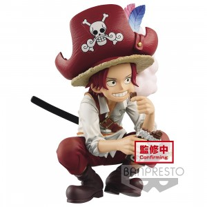 PREORDER - Banpresto DXF One Piece The Grandline Children Wano Kuni Vol. 1 Shanks Figure (red)