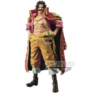 PREORDER - Banpresto One Piece King of Artist The Gol D. Roger Figure (red)