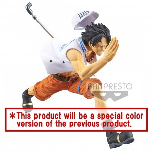 PREORDER - Banpresto One Piece Magazine Figure A Piece Of Dream No. 1 Special Portgas D. Ace Figure (white)