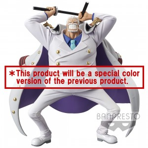 PREORDER - Banpresto One Piece Magazine Figure A Piece Of Dream No. 1 Special Monkey D. Garp Figure (white)