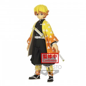 PREORDER - Banpresto Demon Slayer Kimetsu no Yaiba Grandista Zenitsu Agatsuma Figure (yellow)