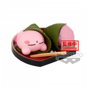 PREORDER - Banpresto Kirby Paldolce Collection Vol.4 Ver. C Cherry Blossom Leaf Kirby Figure (green)