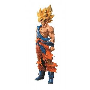 PREORDER - Banpresto Dragon Ball Z Super Master Stars Piece Manga Dimensions The Son Goku Figure Re-Run (orange)