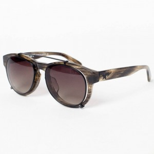 A Bathing Ape BS13014 BR Sunglasses (brown)
