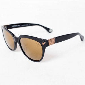 A Bathing Ape BS13034 BK Sunglasses (black)