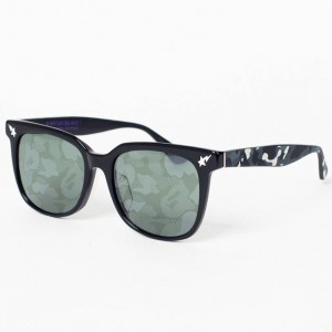 A Bathing Ape BS13058 NEON Sunglasses - Nightmare Edition (black / neon)