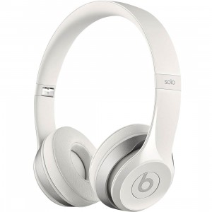 Beats By Dre Beats Solo 2 On-Ear Headphones (white)