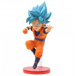 Banpresto Dragon Ball Z Dokkan Battle 5th Anniversary World Collectable Figure - 5 Super Saiyan God Super Saiyan Son Goku (blue)