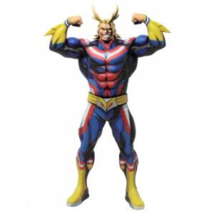 Banpresto My Hero Academia Grandista Manga Dimensions All Might Figure (navy)