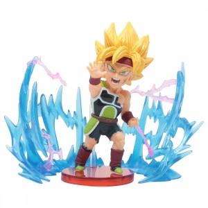 Banpresto Dragon Ball Super World Collectable Figure Plus Effect - 04 Super Saiyan Bardock (green)