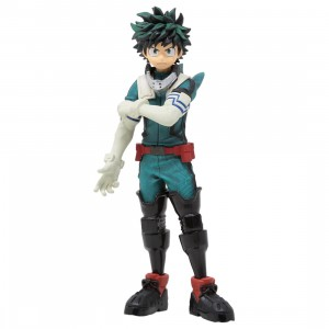 Banpresto My Hero Academia Texture Izuku Midoriya Figure (blue)