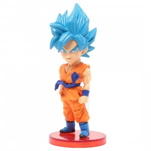 Banpresto Dragon Ball Legends Collab World Collectable Figure Vol 3 - 15 Super Saiyan Blue Son Goku (blue)