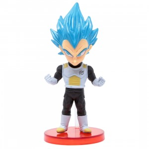 Banpresto Dragon Ball Legends Collab World Collectable Figure Vol 3 - 16 Super Saiyan Blue Vegeta (blue)