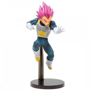 Banpresto Dragon Ball Super Chosenshi Retsuden II Vol. 3 Super Saiyan God Vegeta Figure (pink)