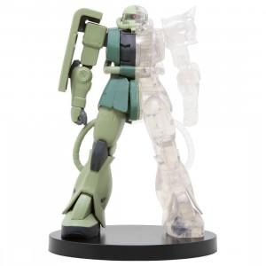 Banpresto Mobile Suit Gundam Internal Structure MS-06F Zaku II Ver. A Figure (green / clear)