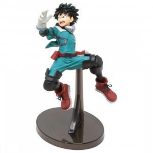Banpresto My Hero Academia The Amazing Heroes Vol 10 Izuki Midoriya Figure (green)